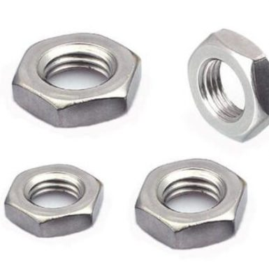 ANSI hex jame nut plain