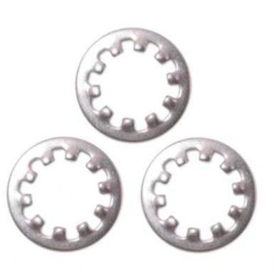 Hình dạng tròn Máy giặt khóa răng M5 đến M20